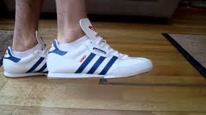 white samba adidas samba white blue