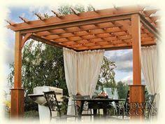 10 X 10 Pergola by A Craftsman Style Pergola For The Backyard Covered With Snail Vine