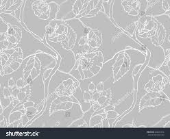 what is floral pattern in french seamless elegant pattern flowers leaves background stock vector hd