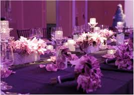 silver and purple wedding table decorations digitalrabie com
