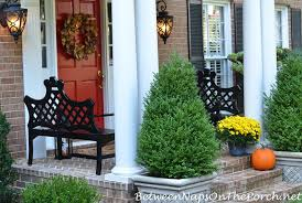 decorate your porch for autumn u0026 halloween