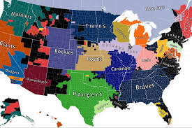 Nhl Map Facebook U0027s Mlb Fan Map Reminds Us Yankees Fans Are Everywhere