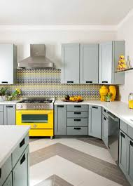 kitchen yellow and gray kitchen ideas blue gray white and