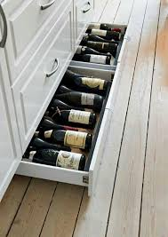 Kitchen Cabinet Wine Rack Ideas Amazing Kitchen Wine Storage Ideas For Your Modern Home