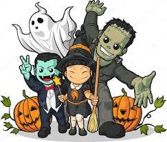 witch vampire frankenstein ghost u0026 pumpkin greeting halloween