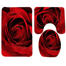 Red Bathroom Rugs Sets by Compare Prices On Toilet Rug Set Online Shopping Buy Low Price