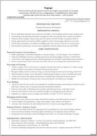corporate resume format trainer resume sle corporate sales and template coach