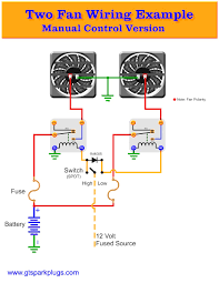 automotive electric fans gtsparkplugs in dual fan relay wiring for
