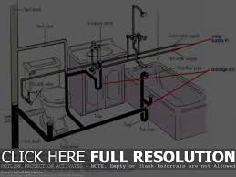 kitchen sink connection kitchen drain diagram pipe replacement parts full size