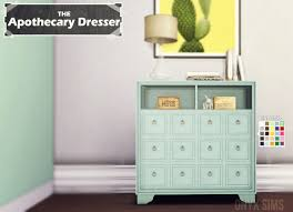 apothecary dresser my sims 4 blog the apothecary dresser by kiararawks