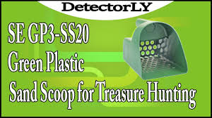 green hunting light reviews se gp3 ss20 green plastic sand scoop for treasure hunting review