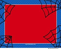 spiderman birthday invitations badbrya com