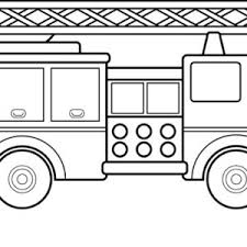 fire truck standard for fire fighting coloring page coloring sky