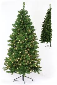 pre lit artificial trees led lights and the half tree