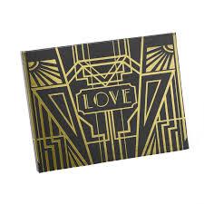 deco theme voyage amazon com hortense b hewitt art deco black guest book gold