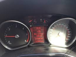 ford mondeo instrument cluster display screen fault electrical