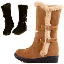 womens black boots australia 2017 wholesale warm winter boots fur inside australia boots