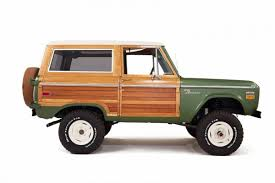 bronco car 2016 check out the fantastic retro look of this custom ford bronco maxim