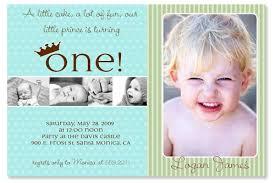 invitation 1st birthday boy