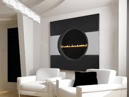 minimalist big wall gas fireplace ideas and fascinating white