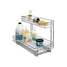 Cabinet Organizers Pull Out Lynk Professional Pull Out Under Sink Drawer 2 Tier Sliding
