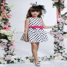 kids cotton dress 100 cotton lastest dot style girls frock