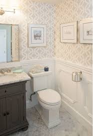top 25 best small bathroom wallpaper ideas on half