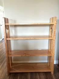 Bookshelf Bench Knockdown Cherry Bookshelf And Entrance Bench Album On Imgur