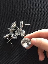 online get cheap crystal upholstery button aliexpress com