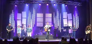 Church Lighting Design Ideas Pipe Slots Stage Design Church Stage Design Ideas