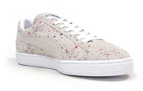 Classic Paint Puma Suede Classic Paint Splatter Sneaker Bar Detroit