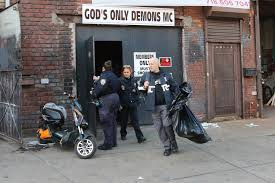 lexus brooklyn service cops arrest 24 in massive raid at brooklyn biker club new york post