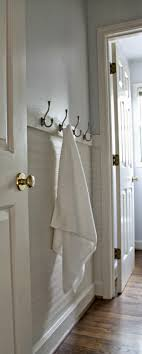 bathroom towel hooks ideas fresh paint beadboard wallpaper towel hooks our fifth house