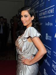 kim kardashian at cinema for peace benefit in los angeles