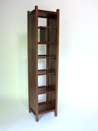 Tall Narrow Shelves open bookcase tall storage cabinet narrow bookcase modern