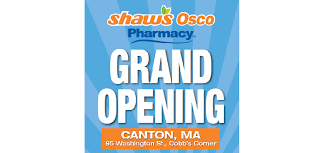 shaws announcing shaw s osco pharmacy opening at canton ma