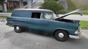 Ford Courier Engine Mods Rare Ride 1955 Ford Courier Sedan Delivery