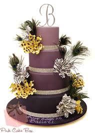 purple ombre quinceañera cake celebration cakes