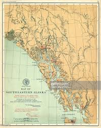 Alaska Maps by Alaska 1903 Southeastern Alaska Alaska Map From Alaska Boundary