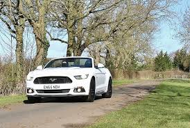 ford mustang gt uk uk drive review ford mustang 5 0 gt convertible rhd