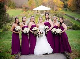 sangria bridesmaid dresses danielle brendan s sangria hued fall wedding wedding colors