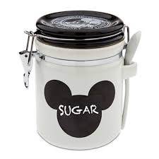 ebay kitchen canisters disney parks gourmet mickey mouse ceramic kitchen chalkboard