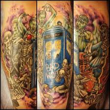timey wimey doctor who tattoos u2022 perfect tattoo artists