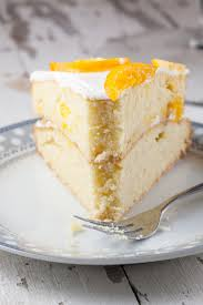 double layered clementine cake ohmydish com
