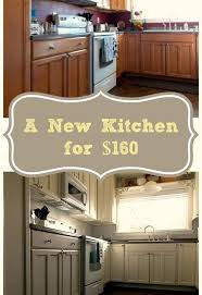 Finishing Kitchen Cabinets How To Diy A Professional Finish When Repainting Your Kitchen