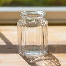 jar vases sweetie jar glass vase by the flower studio notonthehighstreet
