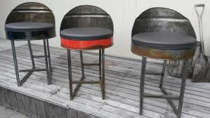 oil drum chairs the awesomer