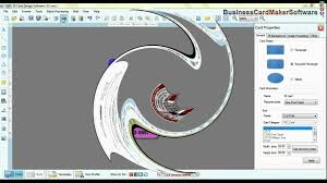 Business Card Creator Software Free Download Free Business Id Card Maker Software Design Id Cards Youtube