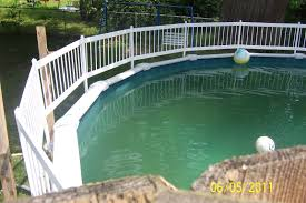 above ground pool fence interior design