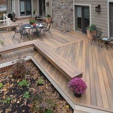 wrap around deck plans best 25 ground level deck ideas on wood patio ground level